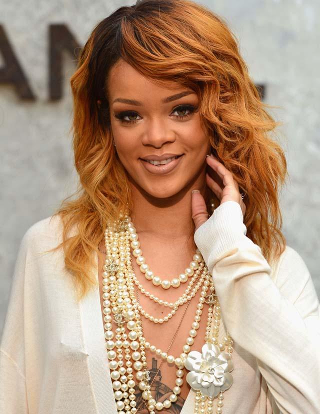 Rihanna, Sheer, Boobs, Bikini, Chanel