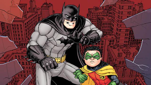 Death of Robin Batman Inc