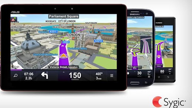 Top 10 GPS For Android Sygic: GPS Navigation Maps