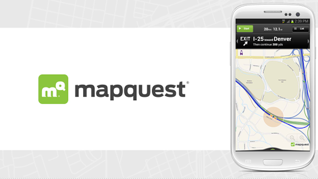 Top 10 GPS Apps For Android Mapquest: Maps, GPS and Traffic