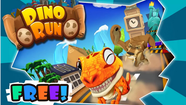 Top 10 Android Arcade Games For July 2013 Dino Run: Jurassic Escape