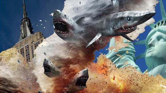 Sharknado Sequel, Sharknado, Fans, Tara Reid, NYC, New York, Ian Ziering