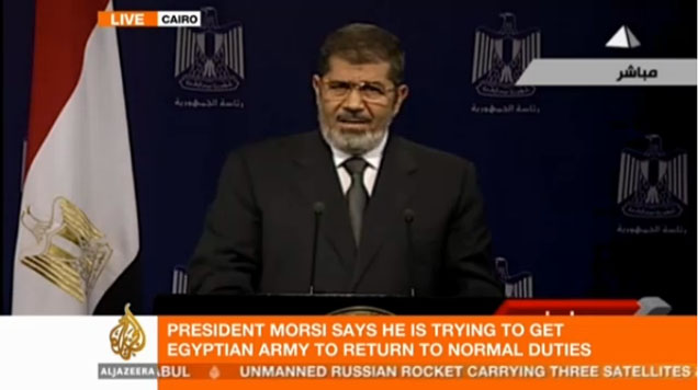 president morsi speech