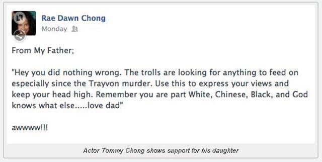 Video, Tommy Chong, Defend, Daughter, Rae Dawn Chong, Racist, Field, N-Word, Nigger, Oprah, Oprah Winfrey, House Lady, Letter, Twitter, Celebrity Twitter, Tweets