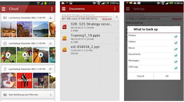 top cloud storage apps for android