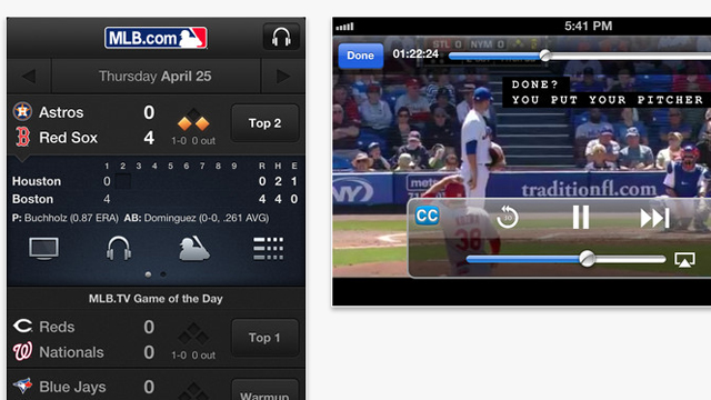 Top 10 iOS iPhone and iPad Updates for July 2013 MLB.com At Bat