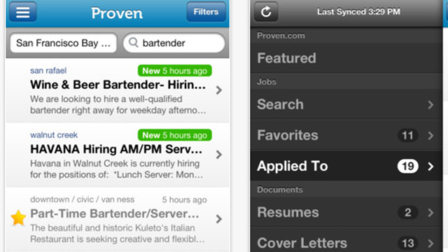 Top 10 iOS iPhone and iPad Updates for July 2013 Proven Job Search