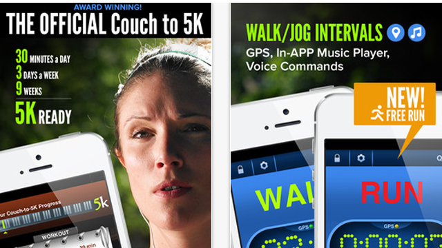 Top 10 Paid iPhone and iPad Apps For July 2013 Couch To 5K