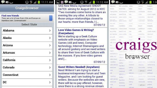 Top 10 Shopping Apps For Android Craigslist Mobile