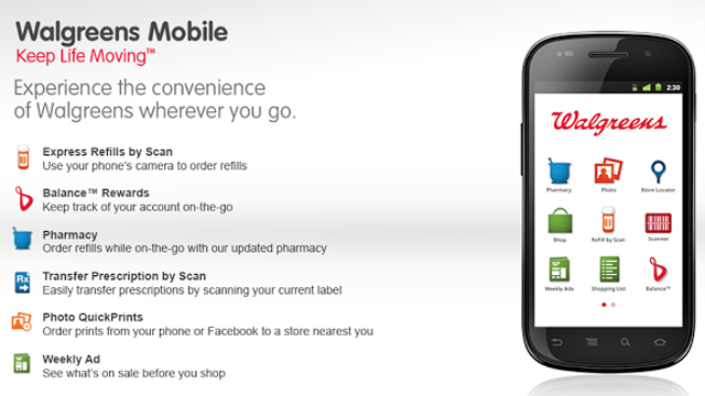 Top 10 Shopping Apps For Android Walgreens Mobile