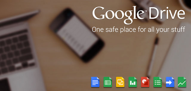 top cloud storage apps for android google drive