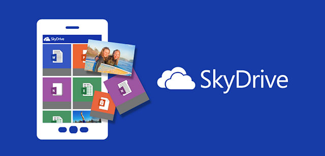 top clou storage apps for android skydrive