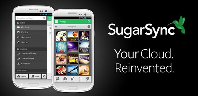 top cloud storage apps for android sugarsync