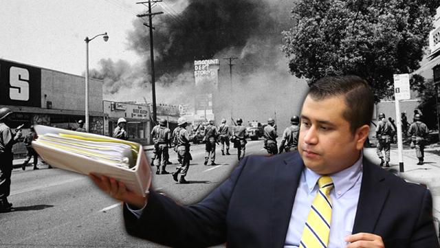 zimmerman race riot