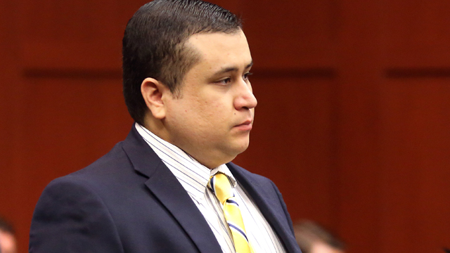 George Zimmerman, trayvon martin, trial, court