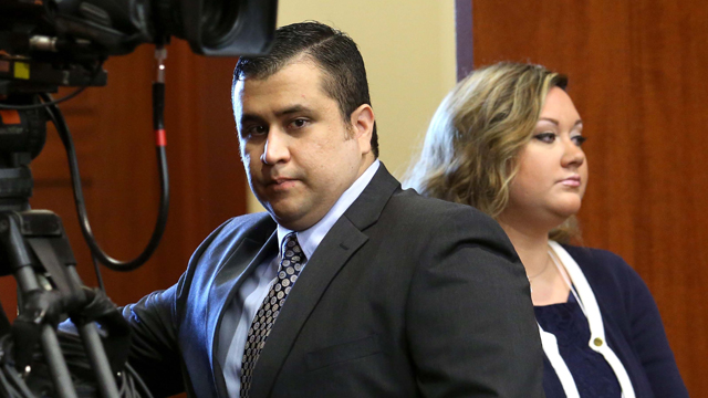george zimmerman's wife arrested