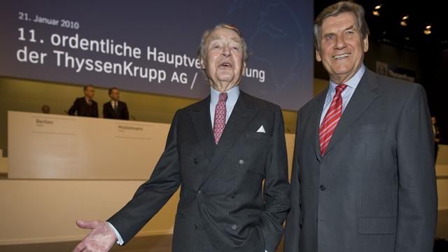 Ekkehard D. Schulz, Berthold Beitz