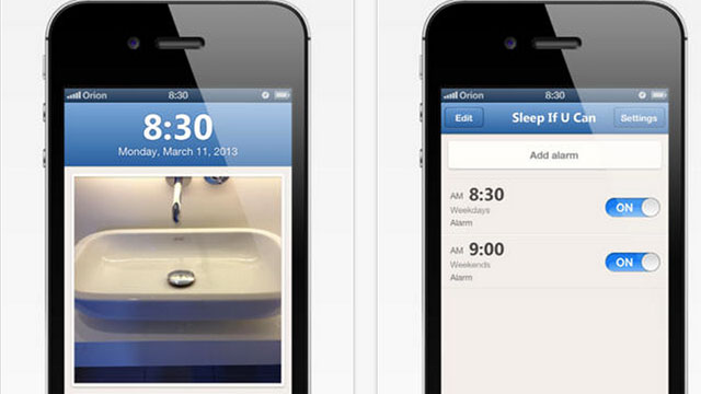 best alarm clock apps for iphone sleep if u can