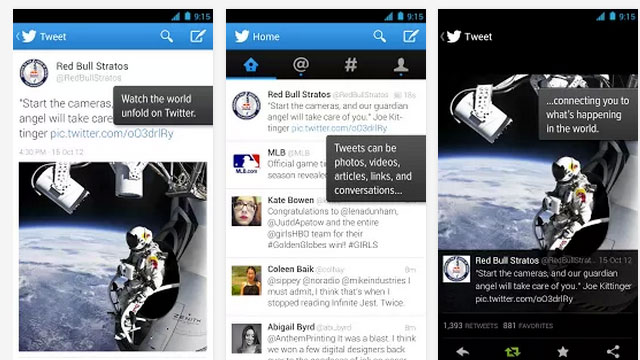 best android app updates twitter
