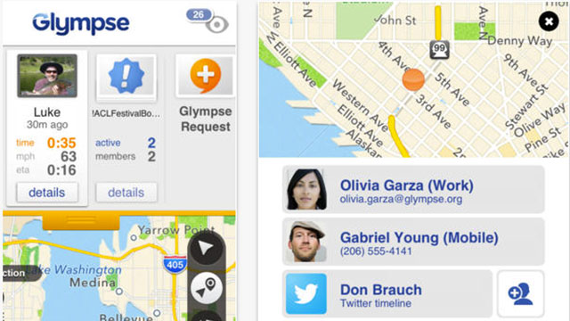 best gps apps for iphone and ipad glympse