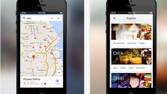 best gps apps for iphone and ipad google maps