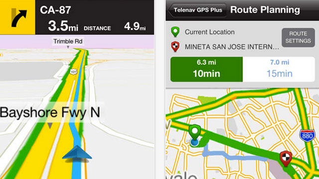 best gps apps for iphone and ipad gps by telenav