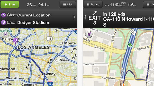 best gps apps for iphone and ipad mapquest