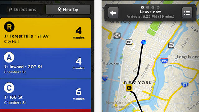 best gps apps for iphone and ipad the transit app