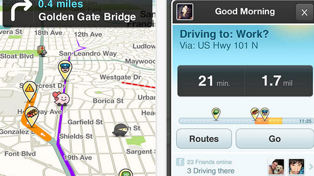 best gps apps for iphone and ipad waze social gps