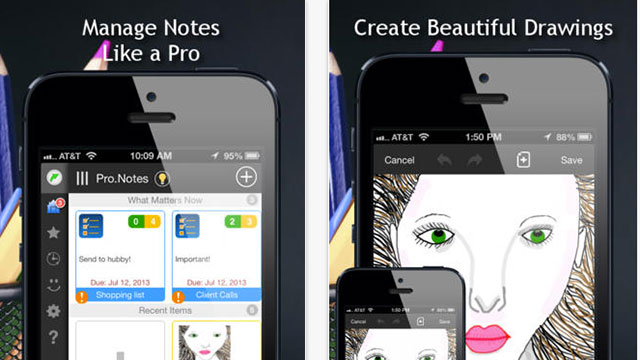 best new iphone and ipad apps pro.notes