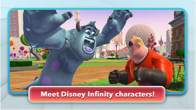 best new iphone apps disney infinity action