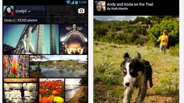 best photo sharing apps for android and iphone flickr