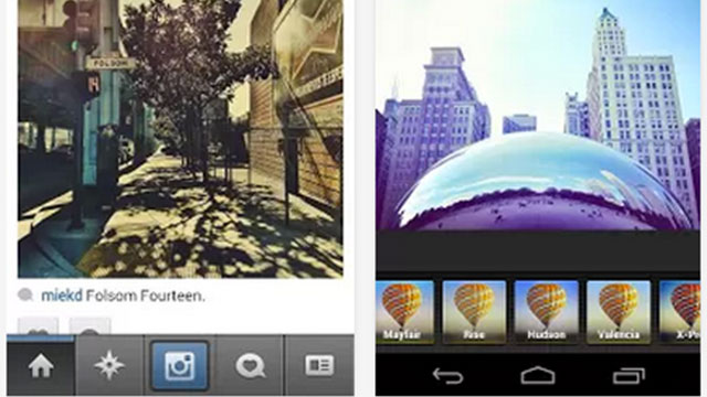 best photo sharing apps for android and iphone instagram
