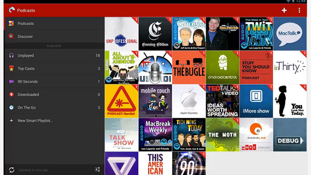 best podcast apps for android pocket casts