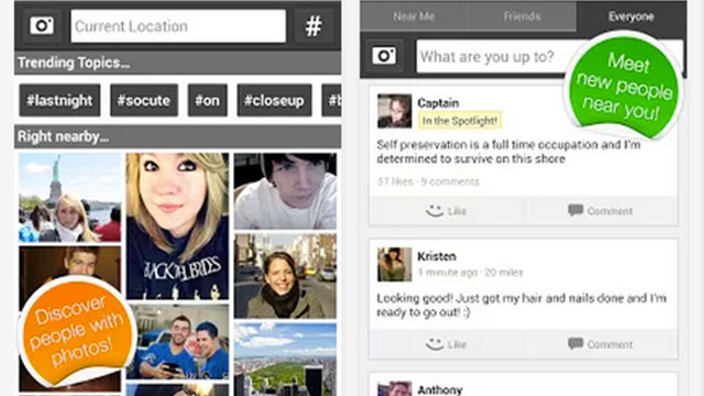best social networking dating apps for android meet me