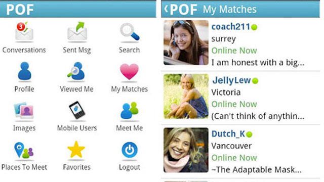 best social networking dating apps for android POF