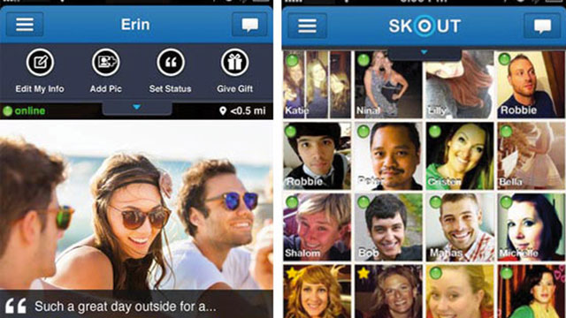best social networking dating apps for android skout