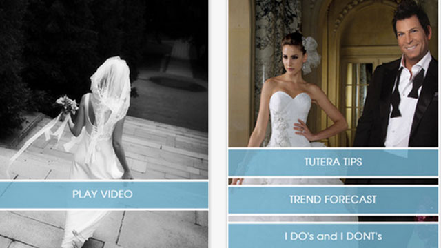 best wedding planning apps for android and iphone david tutera live my dream wedding