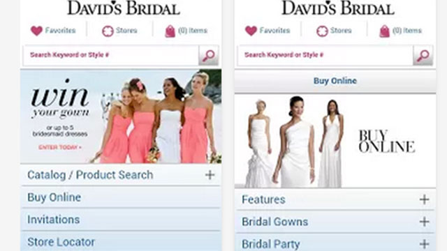 best wedding planning apps for android and iphone david's bridal