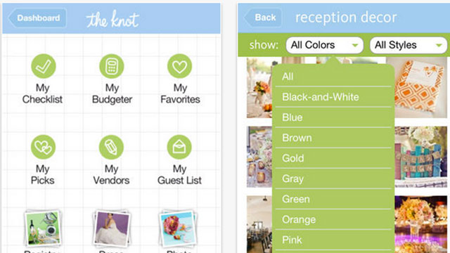 best wedding planning apps for android and iphone the knot ultimate wedding planner