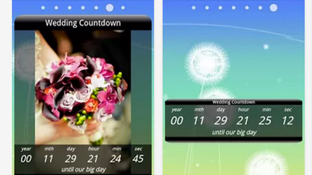 best wedding planning apps for android and iphone wedding countdown widget