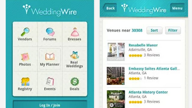 best wedding planning apps for android and iphone wedding wire