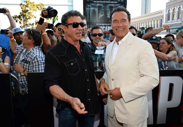 Greedy, Lazy, Sylvester Stallone, Harrison Ford, Cast, Celebrity Tweets, Bruce Willis, Jackie Chan, Wesley Snipes, Milla Jovovich, Mel Gibson, Twitter, Celebrity Tweets, Celebrity Twitter, Die Hard, The Expendables 3, Arnold Schwarzenegger, Jason Statham, Terry Crews