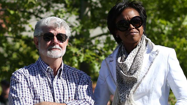 George Lucas Wife, George Lucas Mellody Hobson, Everest Hobson Lucas, Baby Everest, George Lucas Baby, George Lucas Surrogate, George Lucas Baby Surrogate, George Lucas Welcomes Baby, George Lucas Baby Born, George Lucas Wedding