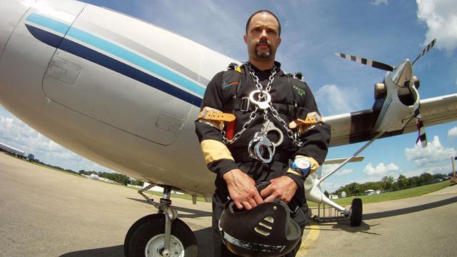 Anthony Martin, escape, fall, plane