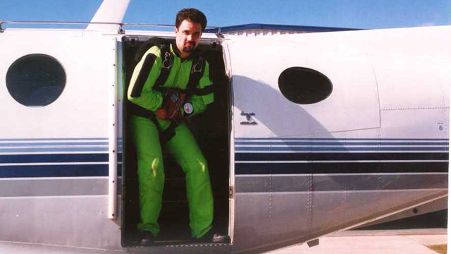 Anthony Martin, escape, stunt, airplane