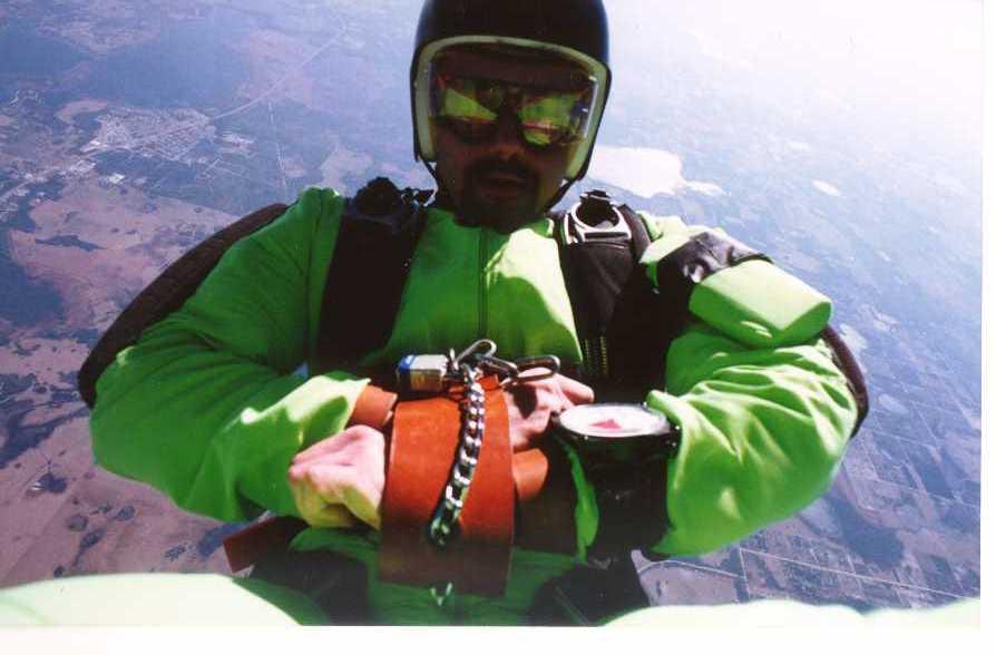 Anthony Martin, stunt, escape