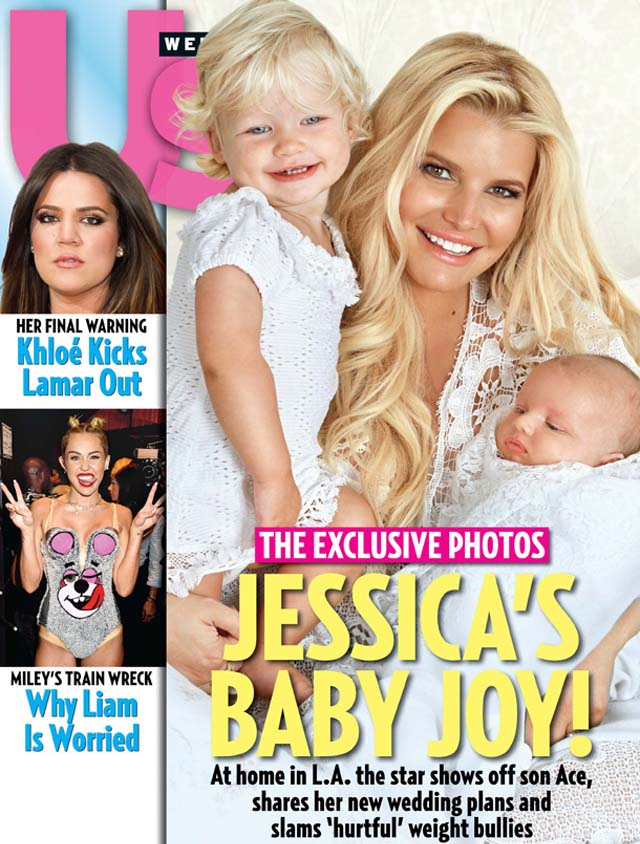 Ace Knute, Jessica Simpson Baby Boy, Jessica Simpson Baby First Photo, Jessica Simpson Ace Knute Photo, Jessica Simpson Ace Knute, Jessica Simpson Us Weekly Cover Son First Baby Photo
