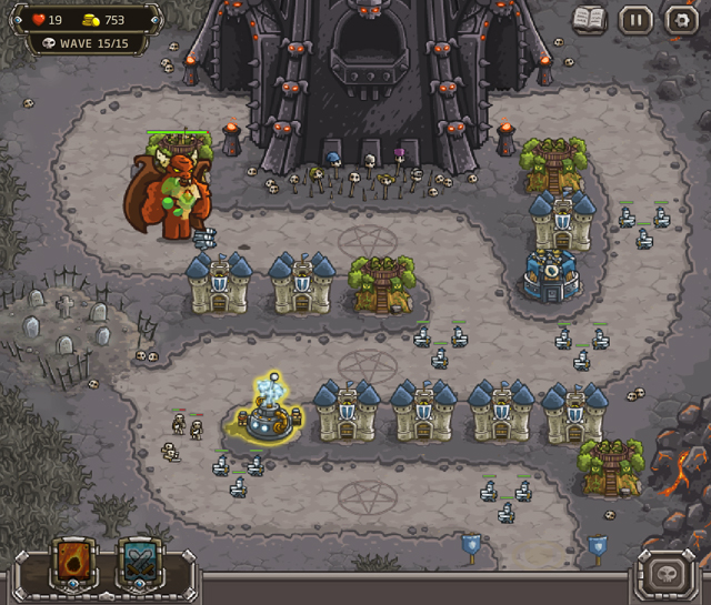 Kingdom Rush Level 12
