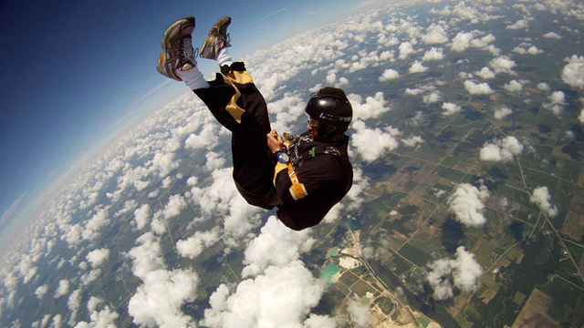 Anthony Martin, stunts, escape